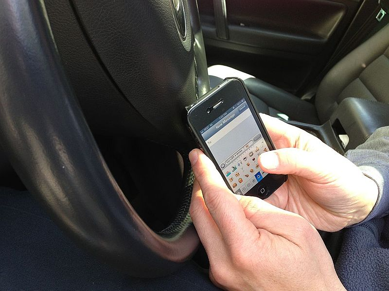 texting accident orange county, orange county injury attorney, john p burns