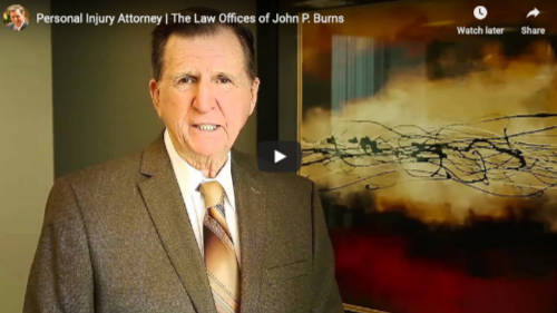 Video from San Juan personal injury attorney, John P. Burns.