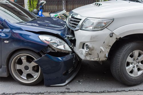 Lawyer John P. Burns represents people who've been injured in car or truck accidents